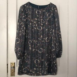 NWT Hunter green Lulu's midi dress